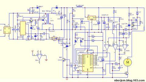 电动车电气线路图