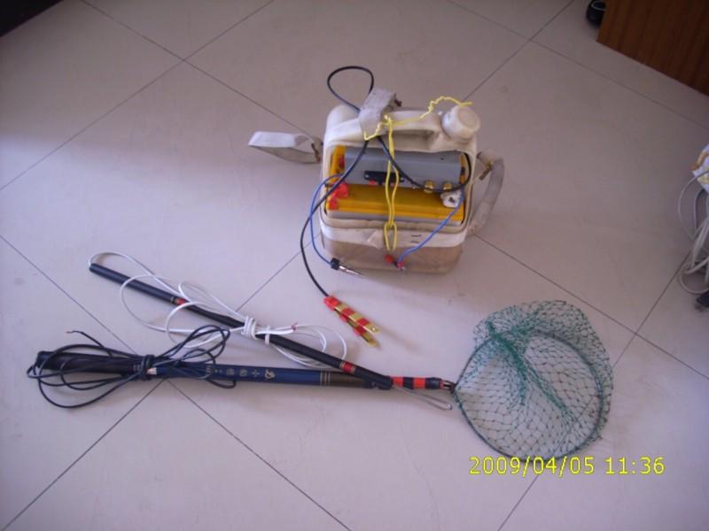 电鱼杆接线方法图片