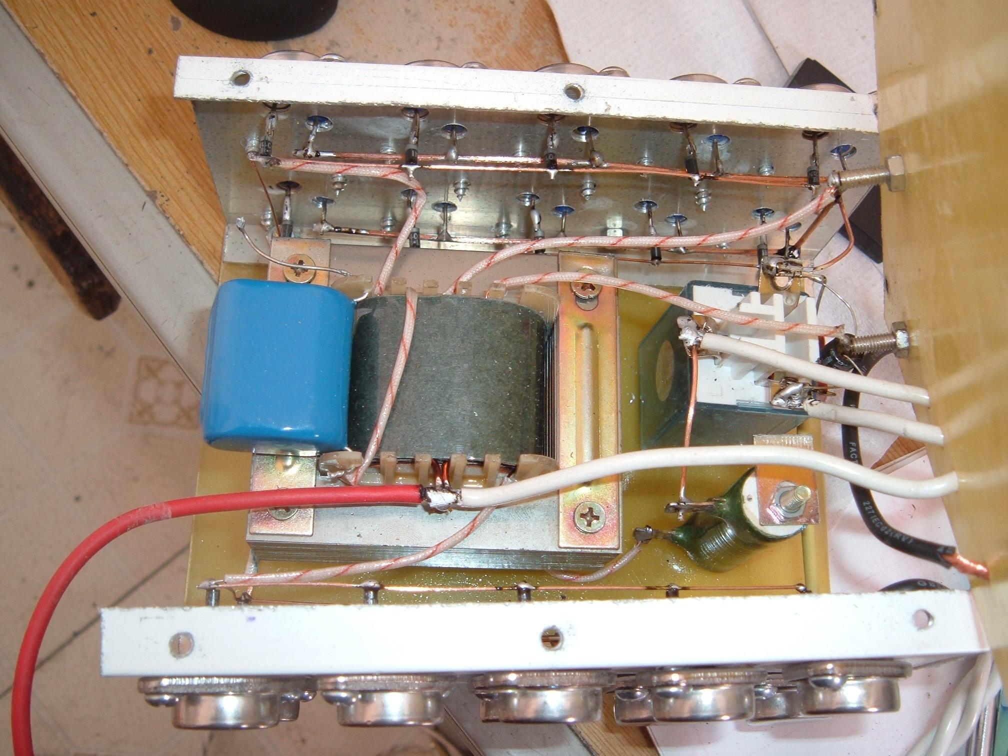 低频自激混频机器