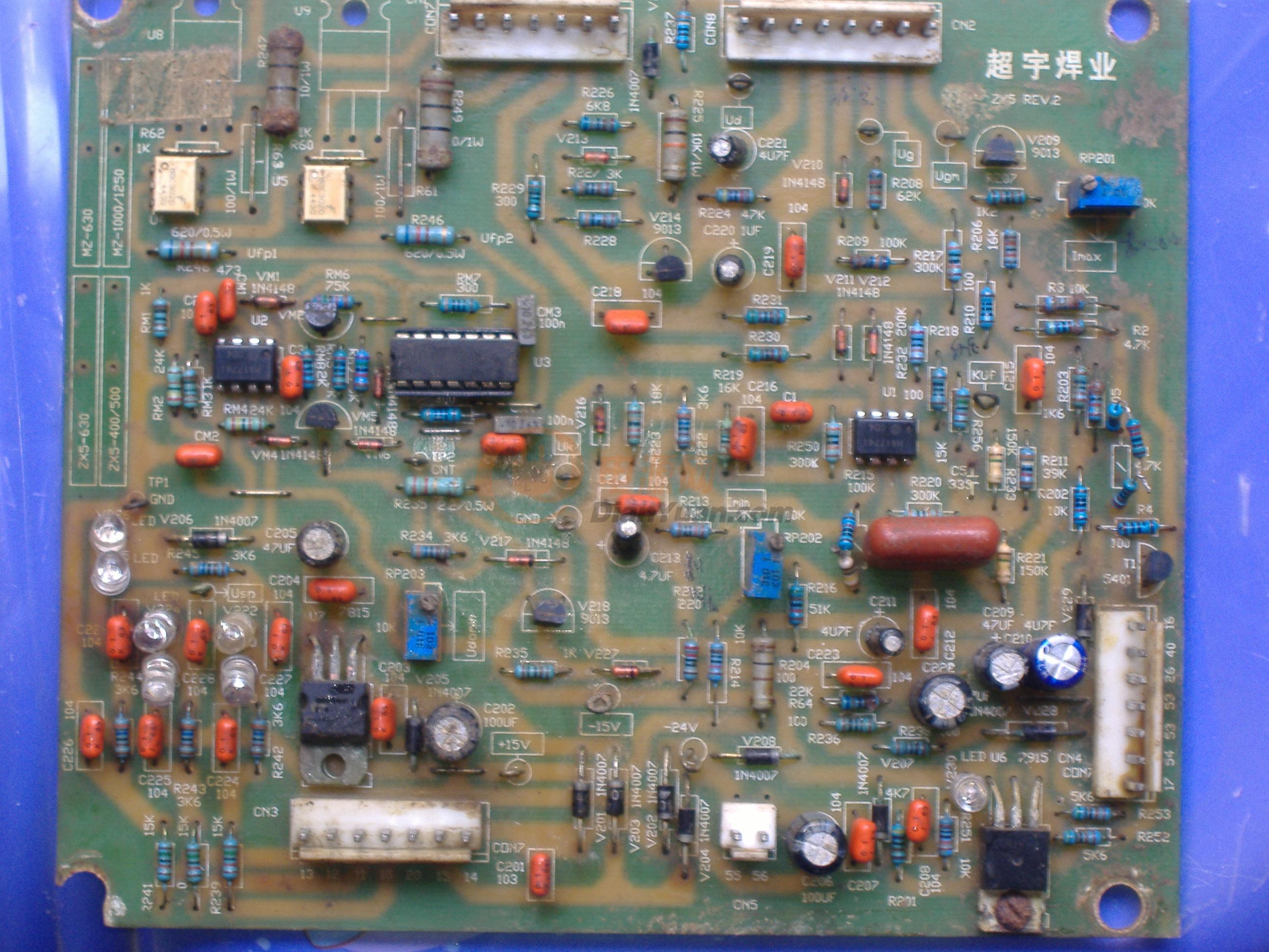 线路板上的集成块也被厂家抹掉了,求线路板图及接线图!