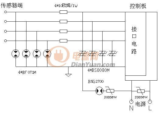 智能化太阳能热水器防雷