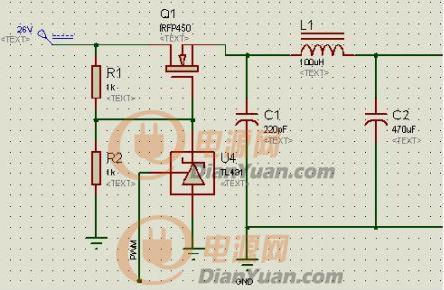 > 关于pwm控制tl431的问题   如图,我想用单片机输出的pwm波控制tl