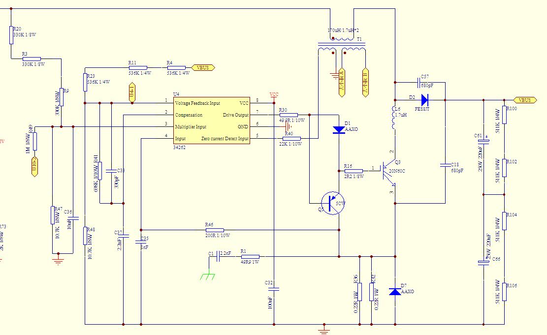 单周期控制 pfc 电路研究及芯片应用介绍