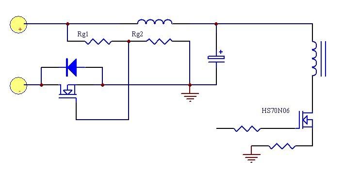 【高清】安定器电路图维修,氙气灯安定器电路