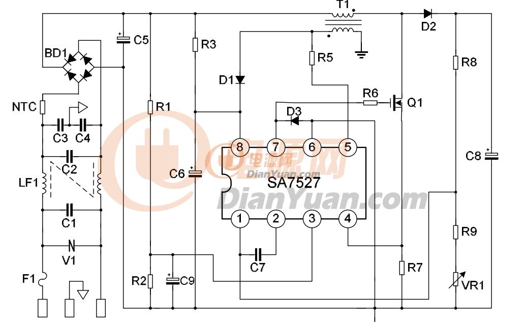 电路 电路图 电子 原理图 1033_633
