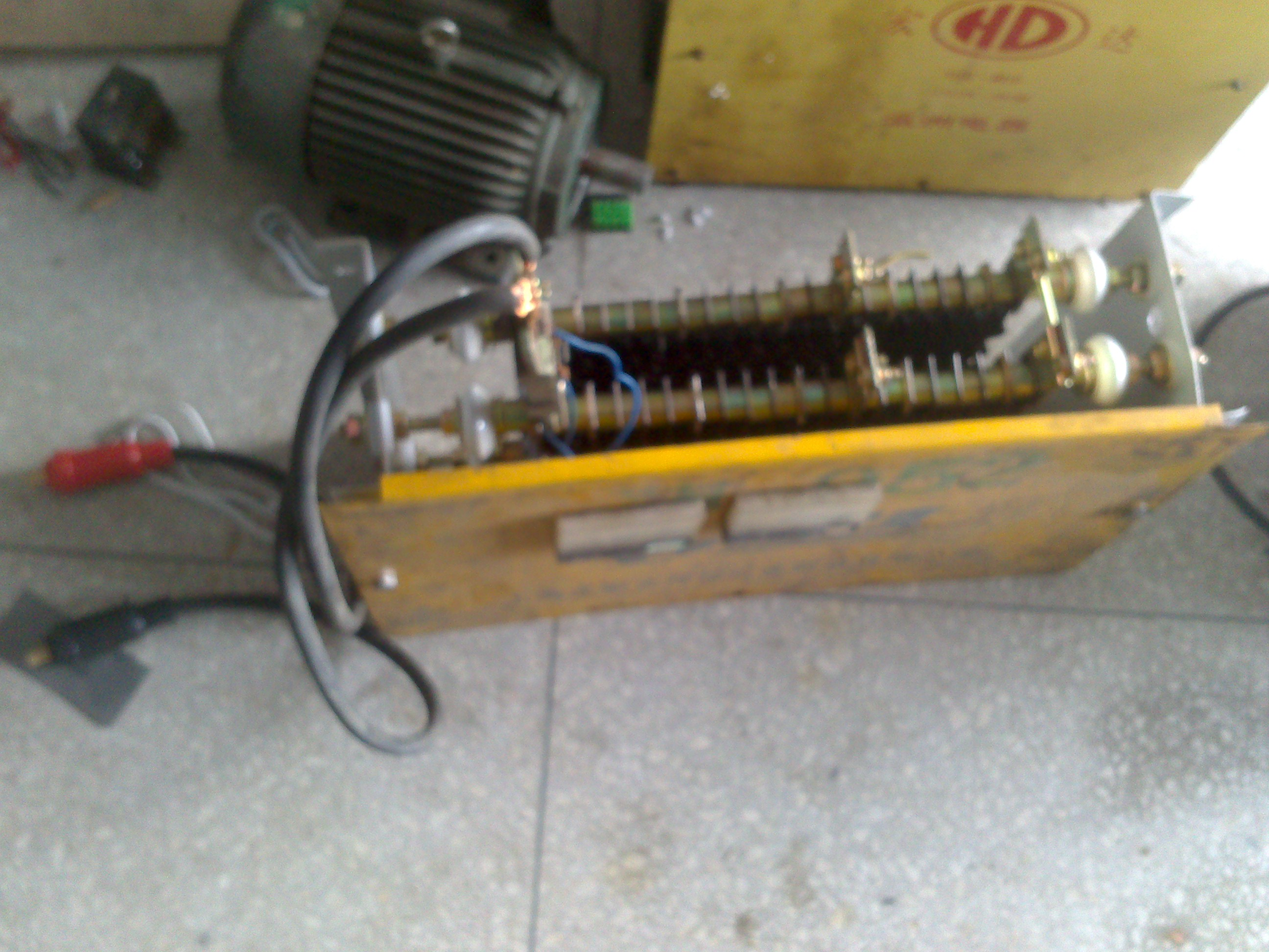焊机的电流表,分流器