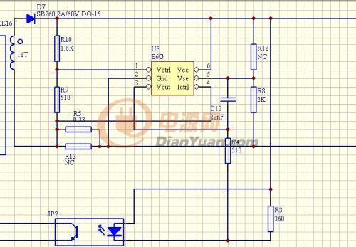 电路 电路图 电子 原理图 500_347