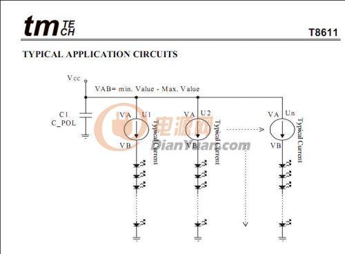 高压线性led恒流驱动 直接接入220v电压