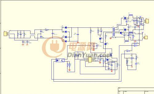 基于TL494芯片设计 48V 5A开关电源电路图片