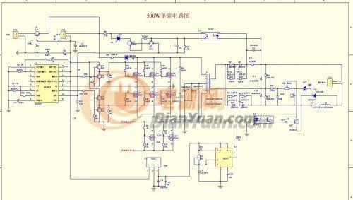 电路 电路图 电子 户型 户型图 平面图 原理图 500_283