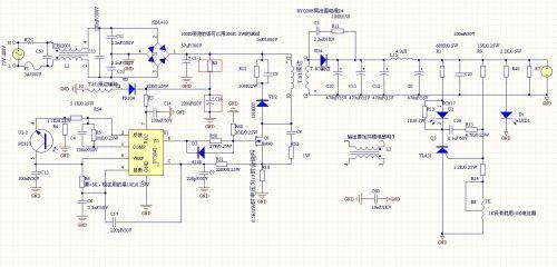 基于uc3842的反激式开关电源设计